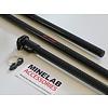RS - carbon voor de Minelab Equinox 600 & 800 RS - carbon Bovensteel Equinox + hardere schotel rubbers
