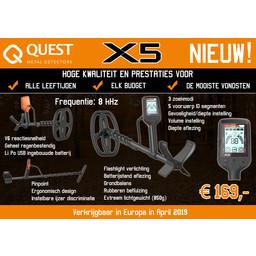 Quest Quest X5 Kinder Detector Verkrijgbaar April 2019