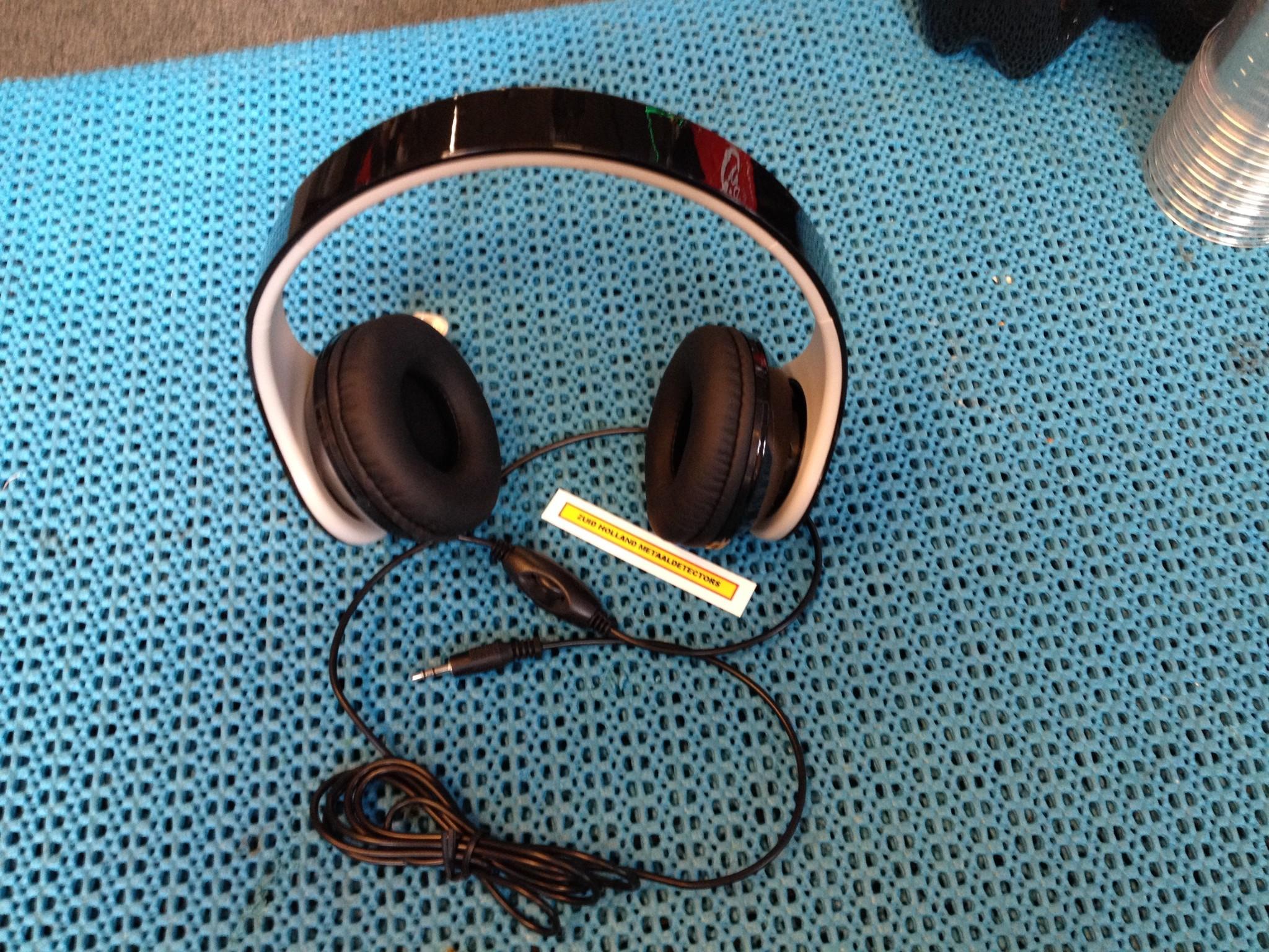 Minelab Hoofdtelefoon voor metaaldetector met volume 3.5 mm.