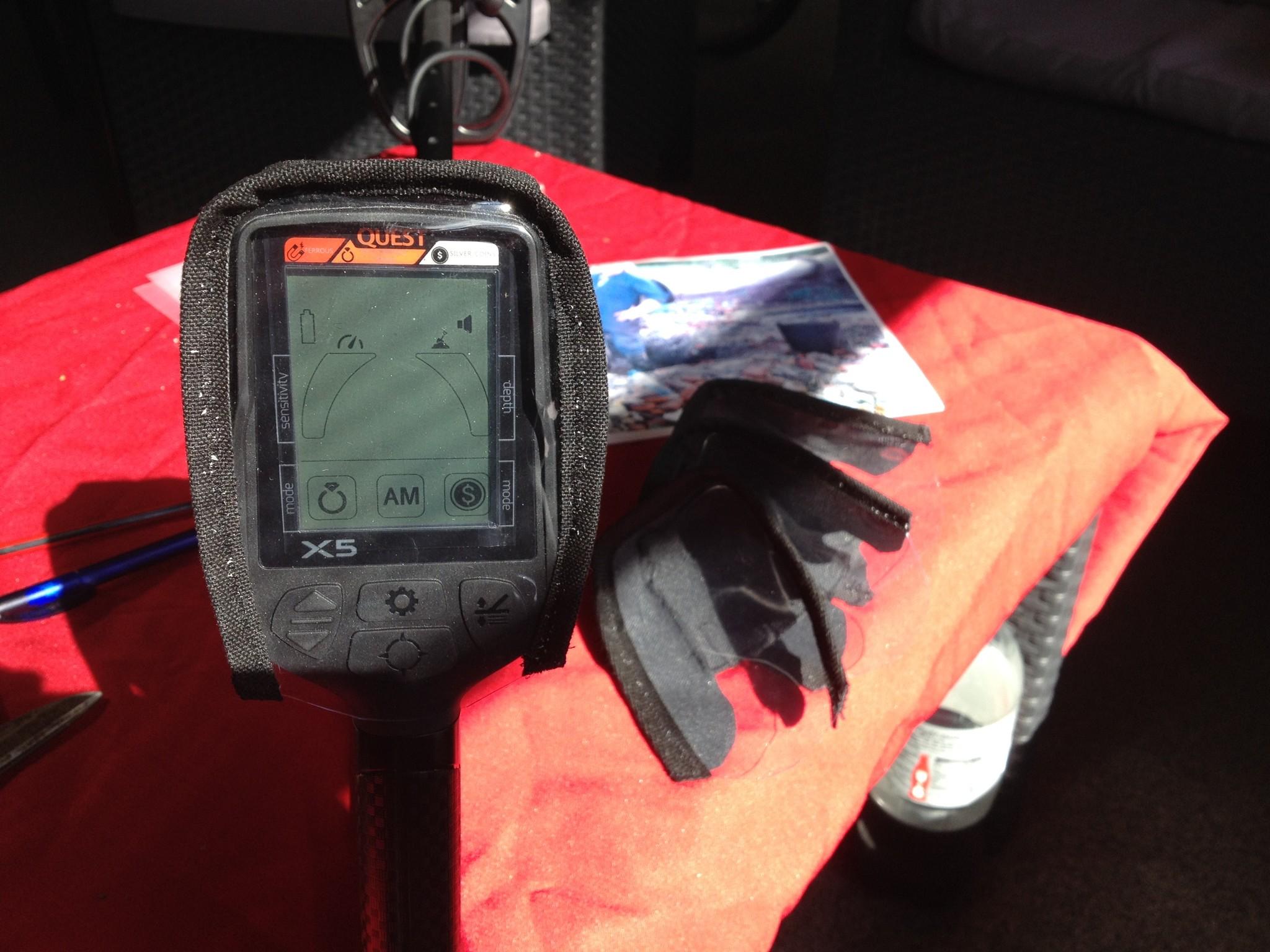Quest X10 Detector beschikt over alle belangrijke functies