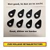 Minelab Equinox schotel rubbers 600 en 800 belangrijke Info ?