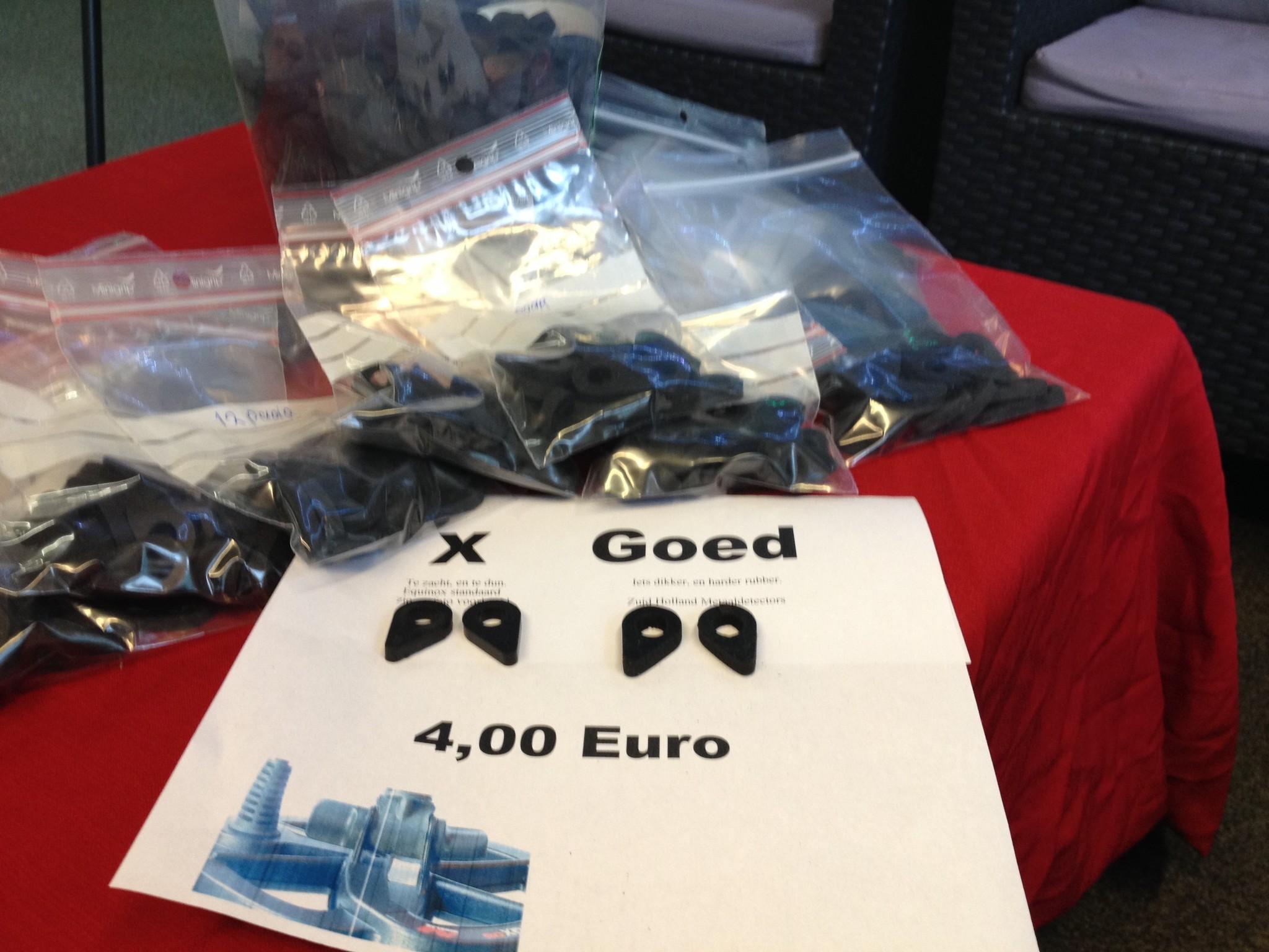 Minelab Equinox 600 und 800 etwas härtere und dickere Coil gummis Minelab