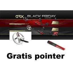 XP ORX Metaaldetector draadloos 22 cm Coil HF + RC. Gratis Pin-Pointer MI-6