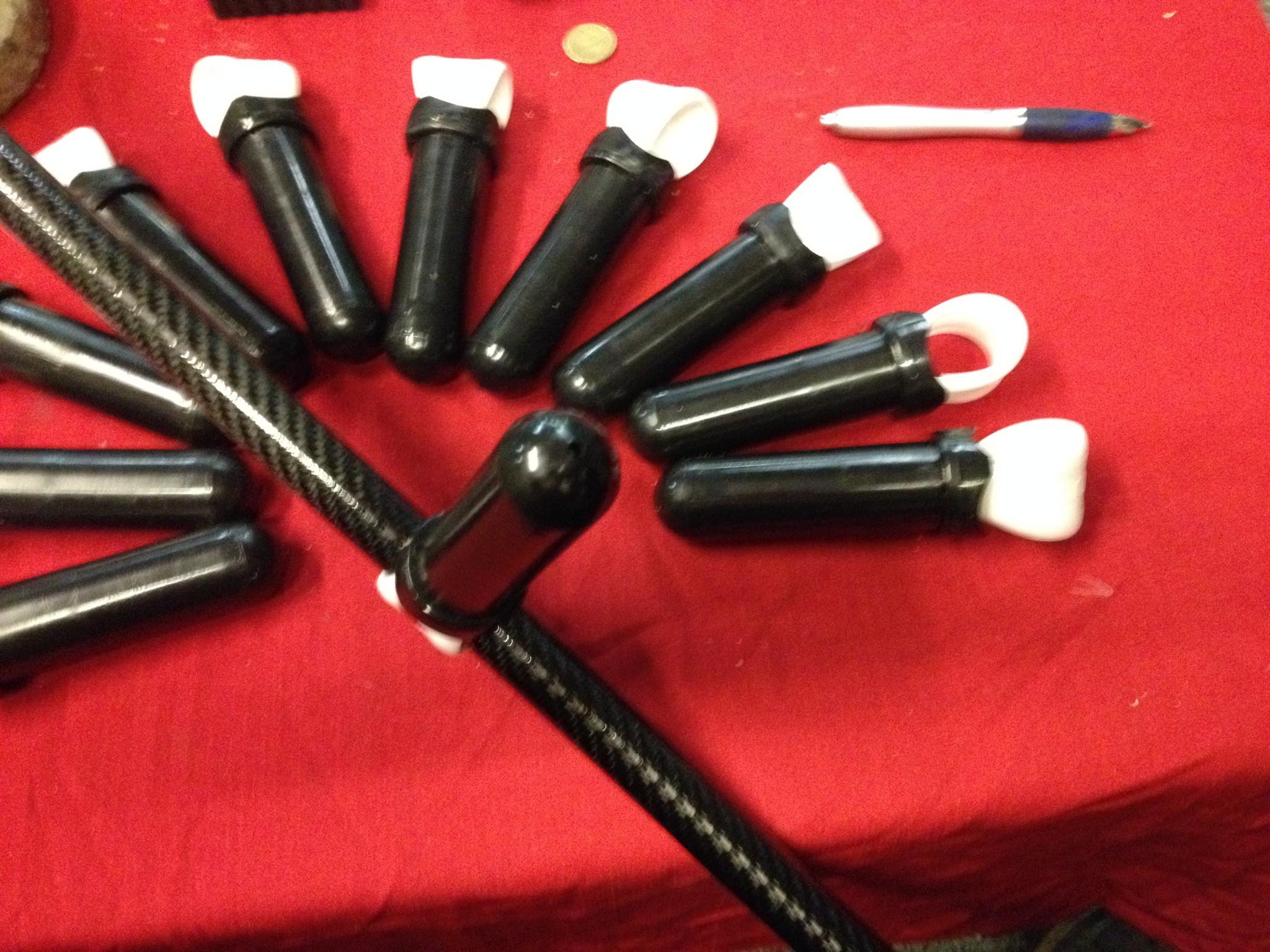 Handvat Handvat kan op elk product Zeef Schep Detector