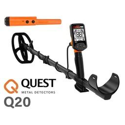 Quest Q20 Quest Q20  Metaal Detector  Coinpad doosje