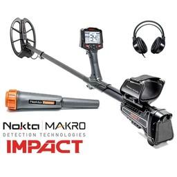 Makro Nokta Impact Metaaldetector 5, 14, 20, kHz.