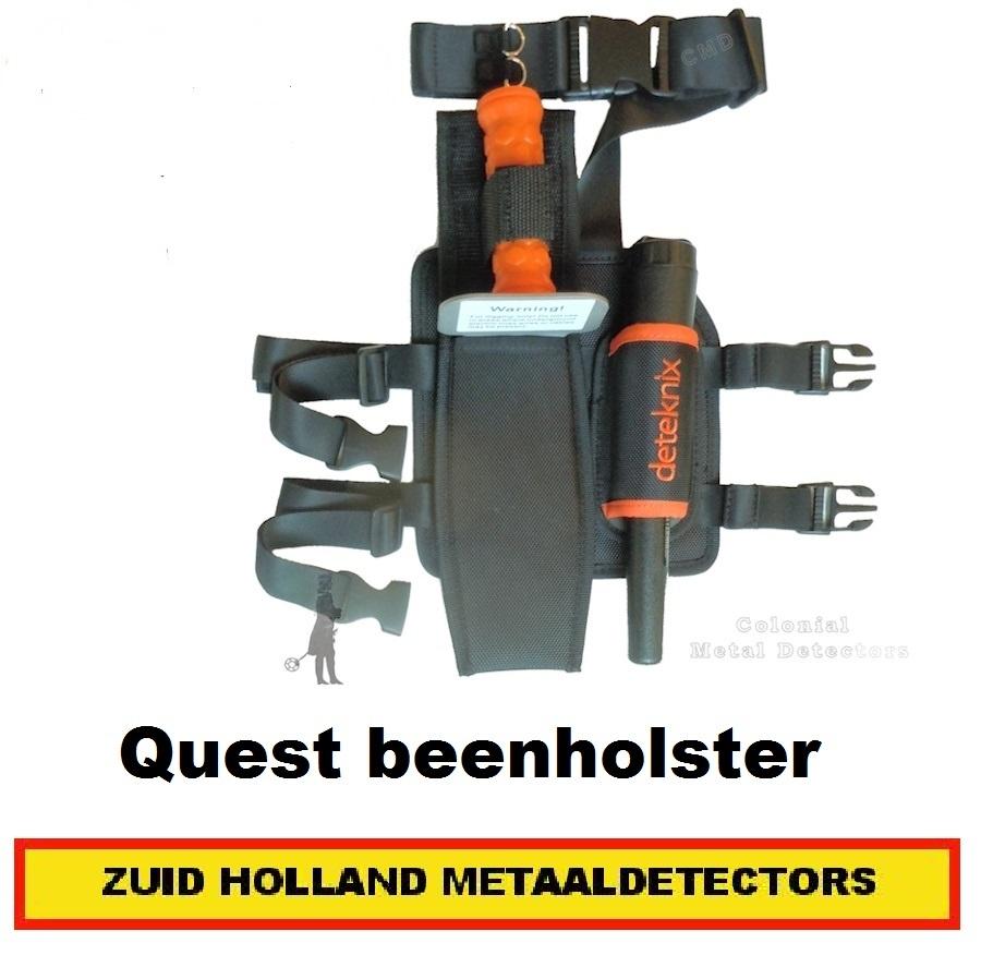 Quest beenholster Draag opberg combinatie Pinpointer en Gras mes Detector