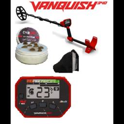 Minelab VANQUISH  340 Starters Metaaldetectors van af 6 jaar.