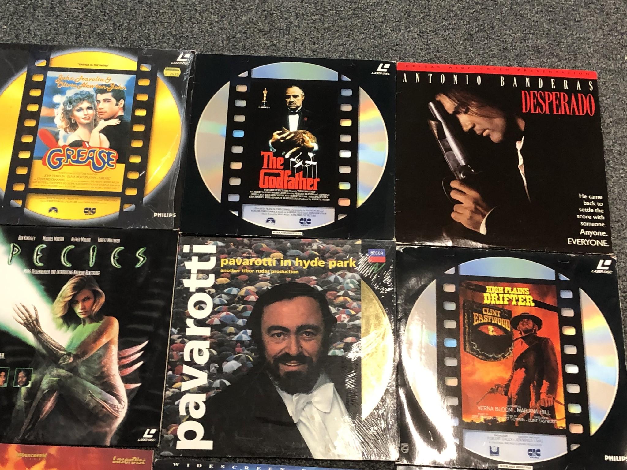 Laser Disc 11 stuks Laser Disc