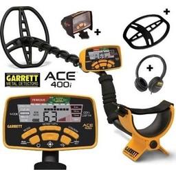 Garrett Ace 400i metaaldetector Gratis Accessoires