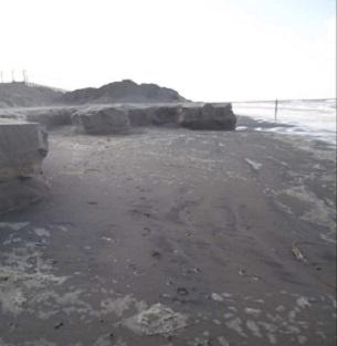 Strand zeef RVS Zeef Schep Carbon - Schep niet meer nodig op strand