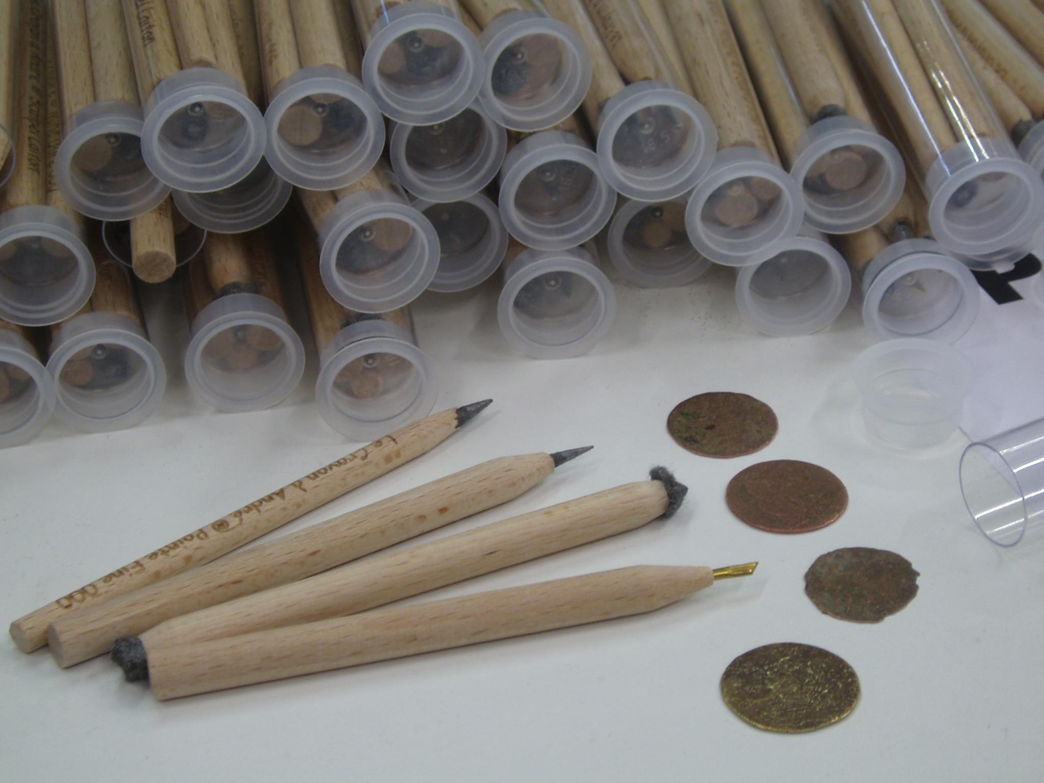 Le Crayon Munten reinigingspotloden