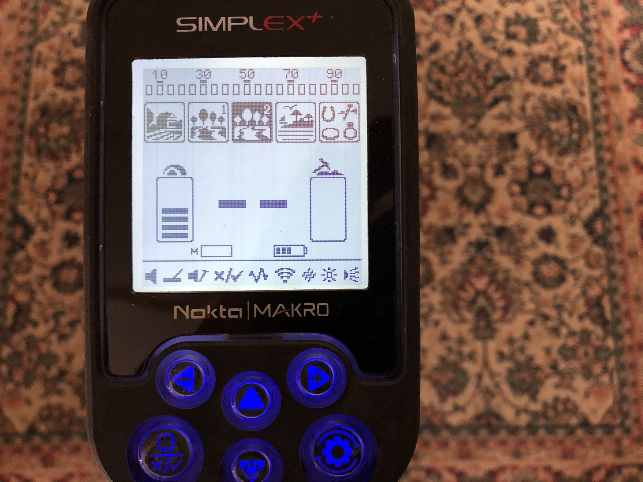 Nokta&Makro Simplex. Makro Nokta Simplex PRO Nieuw Model 2019 Detector