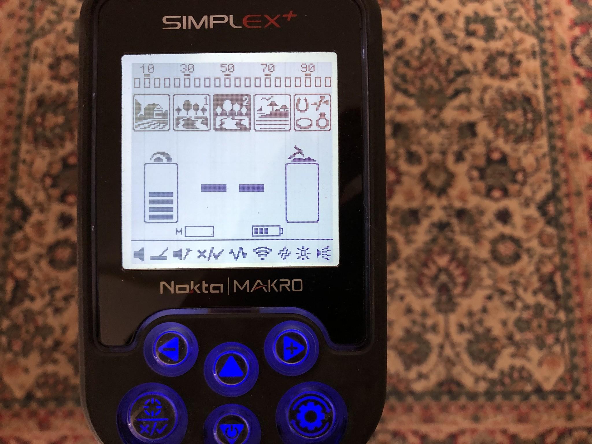 Nokta&Makro Simplex. Makro Nokta Simplex WHP Nieuw Model 2019  Detector