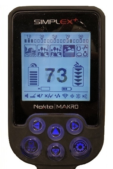 Nokta&Makro Nokta Makro Simplex. Model  Simplex ook onderwater detector