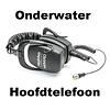 Makro Onderwater hoofdtelefoon voor de Simplex of Multi Kruzer Anfibio