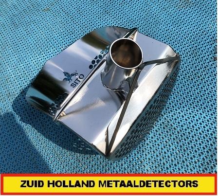 Zeef Waadzeef Waadschep Strandzeef RVS + Carbon 34mm.
