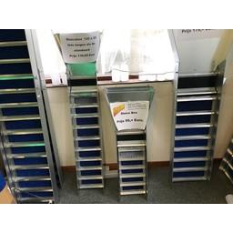 sluice box Sluicebox 125x20 cm iets langen.
