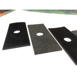 Minelab Equinox opvul rubbers Armsteun of huis bevestiging