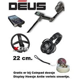 XP Deus V  5.2 NL  22 cm. Coil X35  = Huis-RC + WS-5