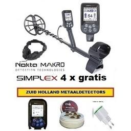 Nokta&Makro Starter de Nokta Simplex  onderwater  Met nieuwste UP DATE OPLAADBAAR OP VOORRAAD
