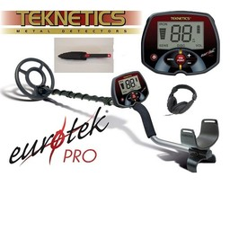 Teknetics PRO metaaldetector 11 DD schotel Starters pakket hoesje