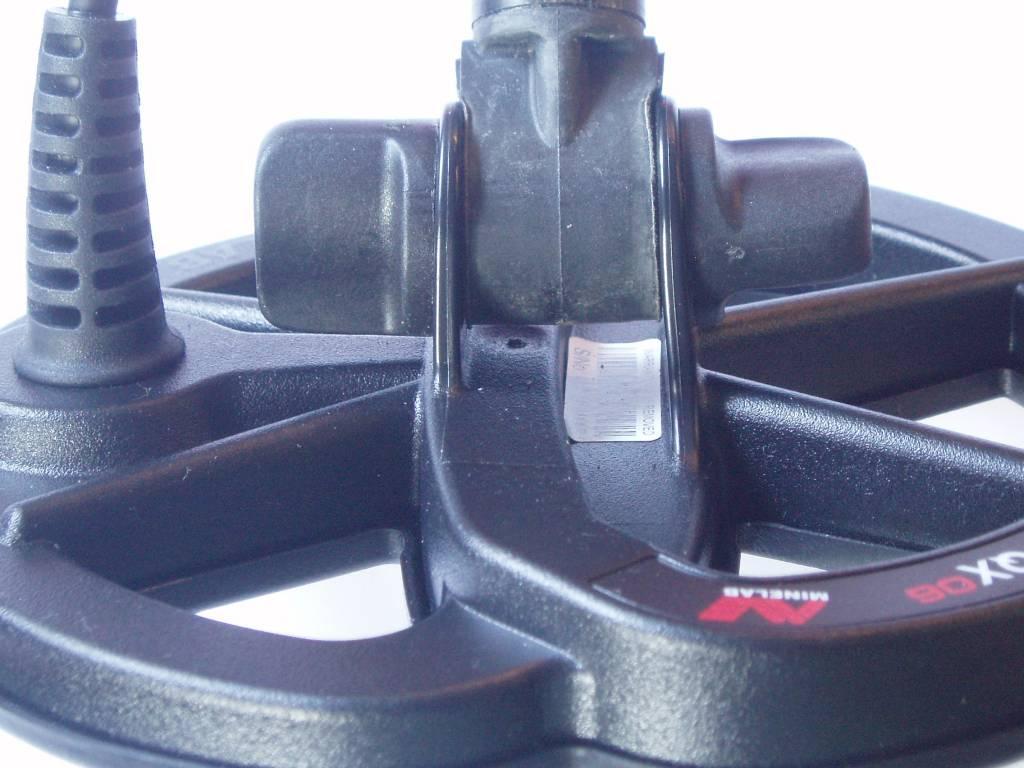 Minelab Deze zijn voor het nieuwe  model onder-steel 5.1 mm.