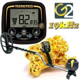 Teknetics G2 gouddetector met gratis starterspakket.