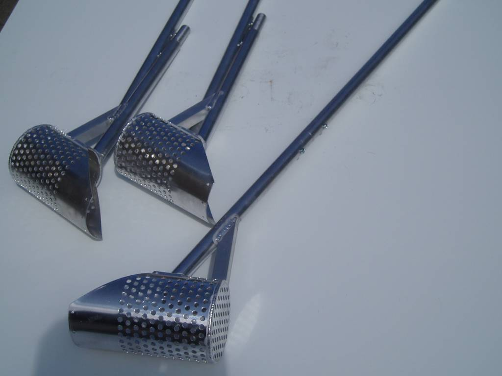 Aluminium Strandzeef Aluminium Strandzeef / waadschep
