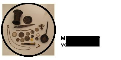 Metaaldectector vondsten