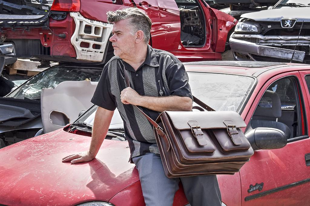 Ruitertassen Neil brown office-bag