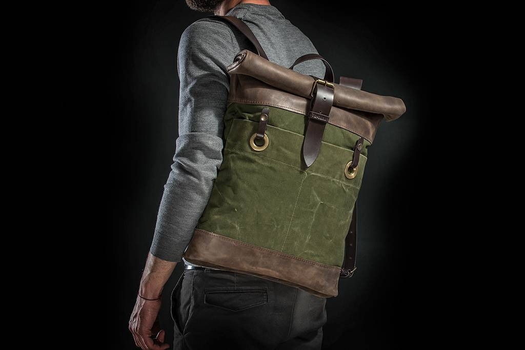 KrukGarage Army rolltop backpack Trooper
