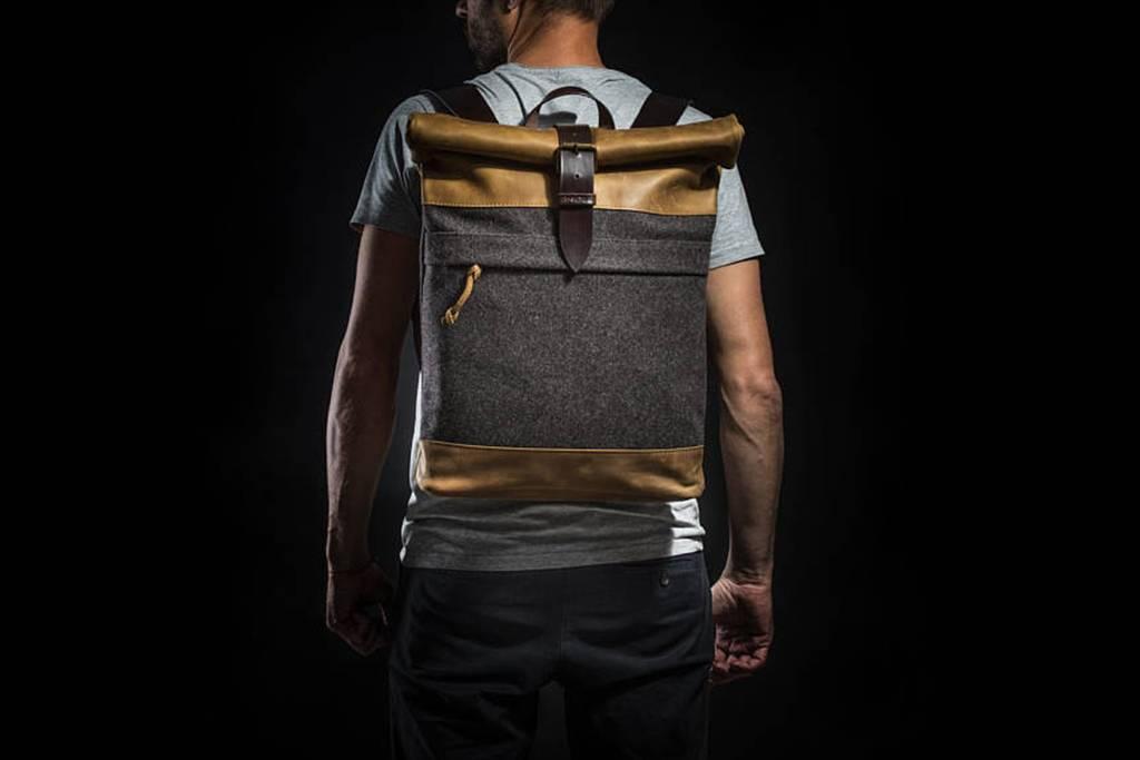 KrukGarage Rolltop backpack Nikolai