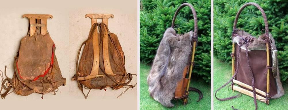 De geschiedenis van de backpack