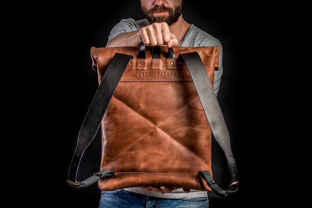 KrukGarage Rolltop backpack Harlow