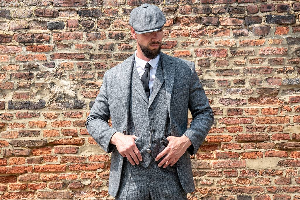 Shelby Brothers collection by Orange Fire Shelby tailormade suit grey