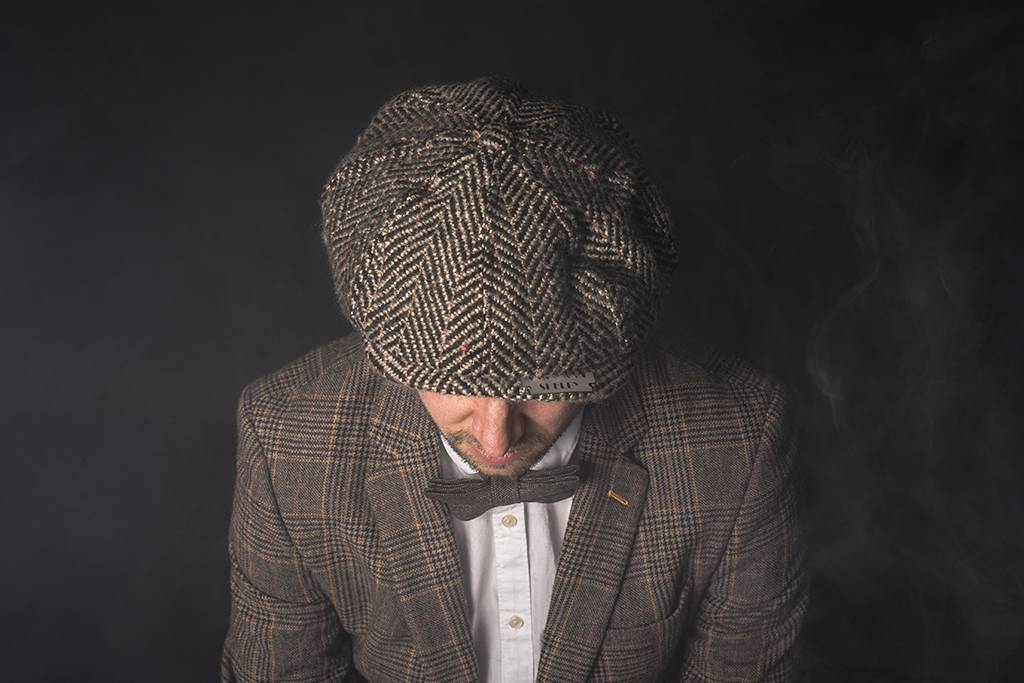 Shelby Brothers collection by Orange Fire SHELBY CAP WOOL BROWN