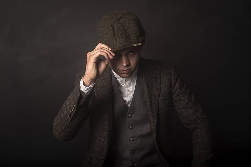 Shelby Brothers collection by Orange Fire SHELBY CAP DELUXE OLD-BROWN