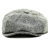 Shelby Brothers collection by Orange Fire Shelby Cap Grey Tweed