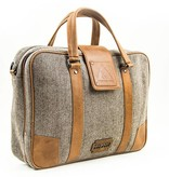 Shelby Brothers collection by Orange Fire Arthur 15 inch laptoptas