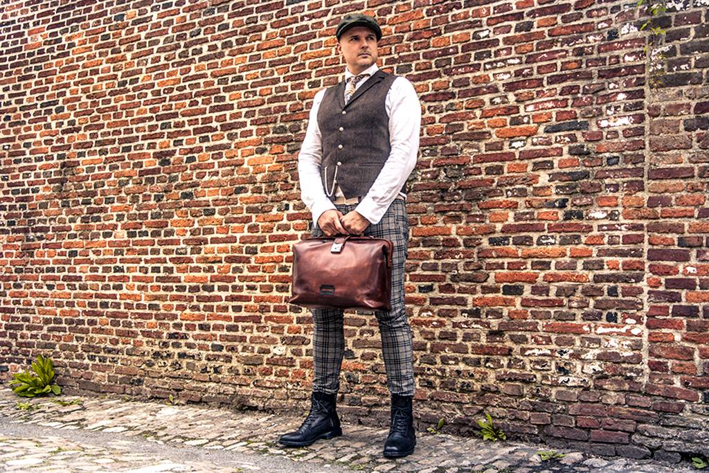 Shelby Brothers collection by Orange Fire Peaky Blinders tas THE SCUMBAG