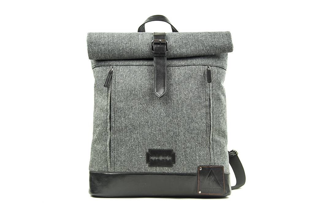 Shelby Brothers collection by Orange Fire Jeramiah rolltop-backpack