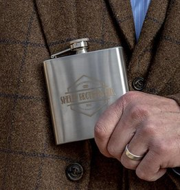 Shelby Brothers collection by Orange Fire Shelby metal flask