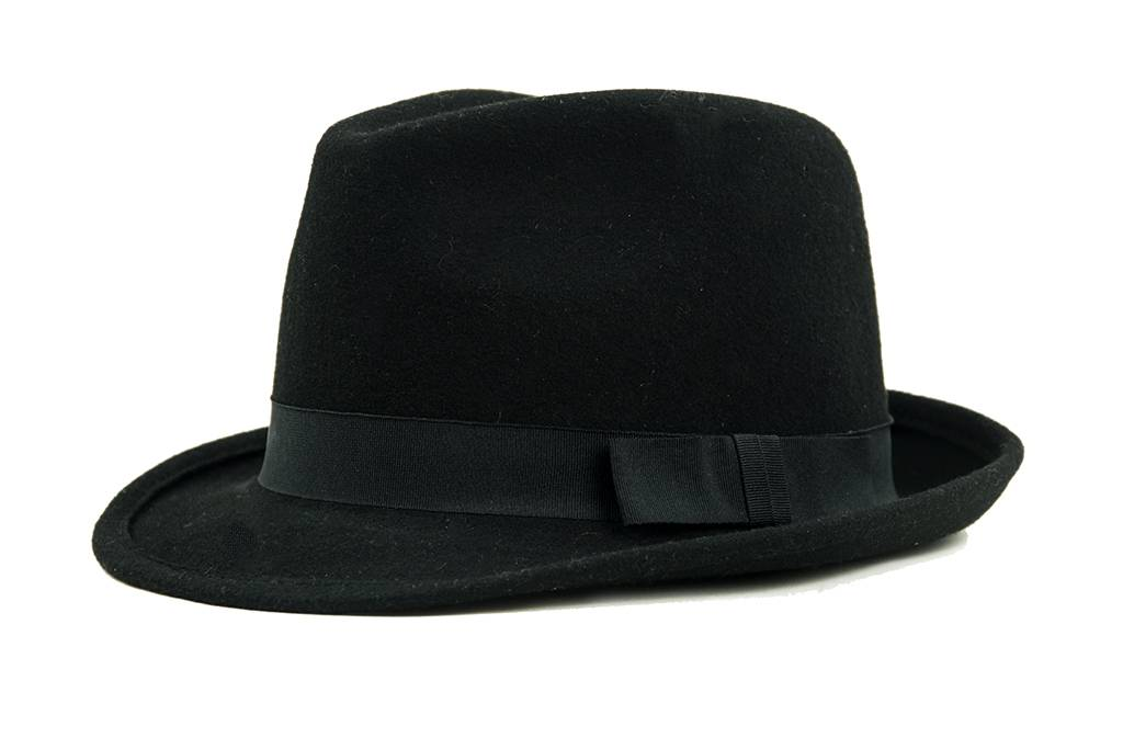 Shelby Brothers collection by Orange Fire Curly trilby hoed