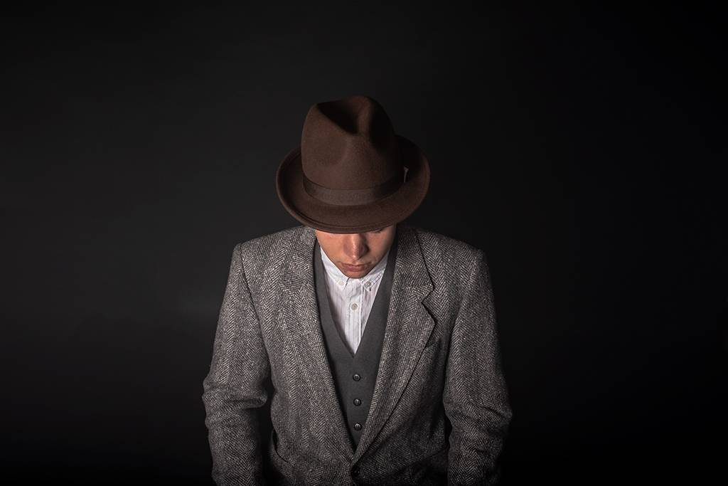 Shelby Brothers collection by Orange Fire Aberama fedora hat