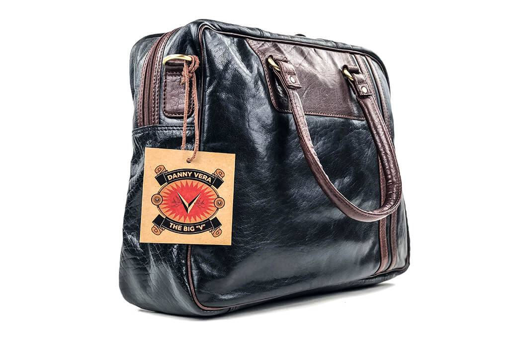 Leather Design The Big V