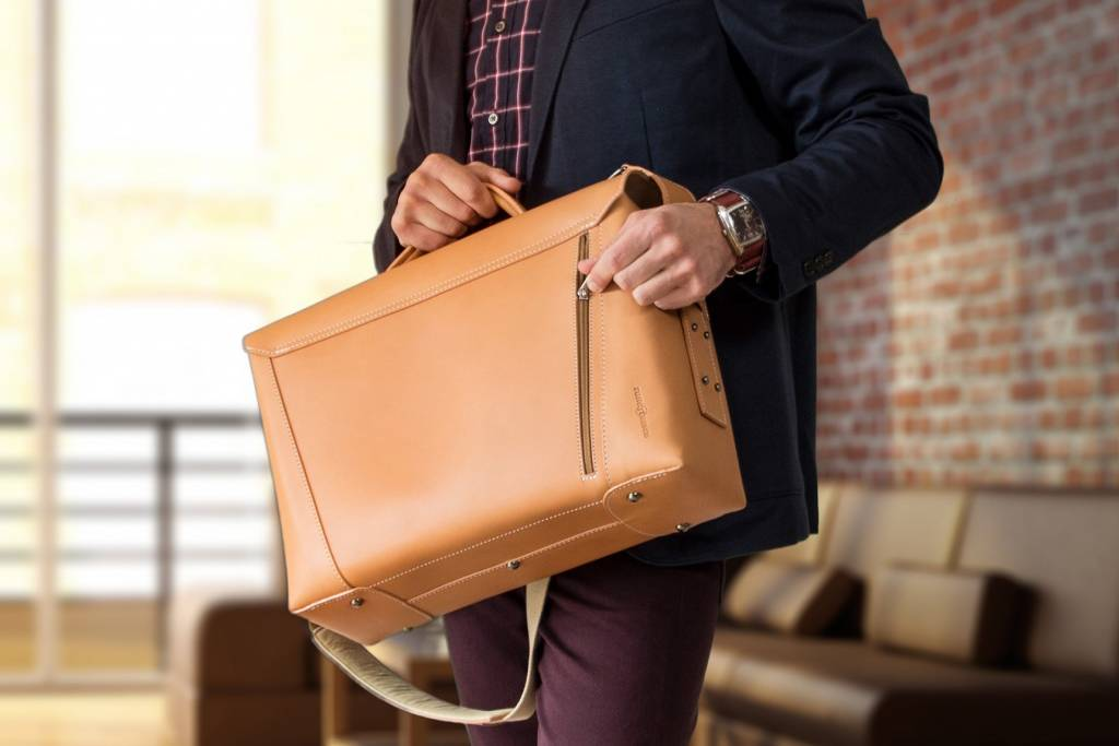 Vanguard by Ruitertassen Vault briefcase naturel