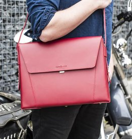 Vanguard by Ruitertassen Vigilante briefcase red