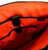 Orange Fire Laptoptas Smith black