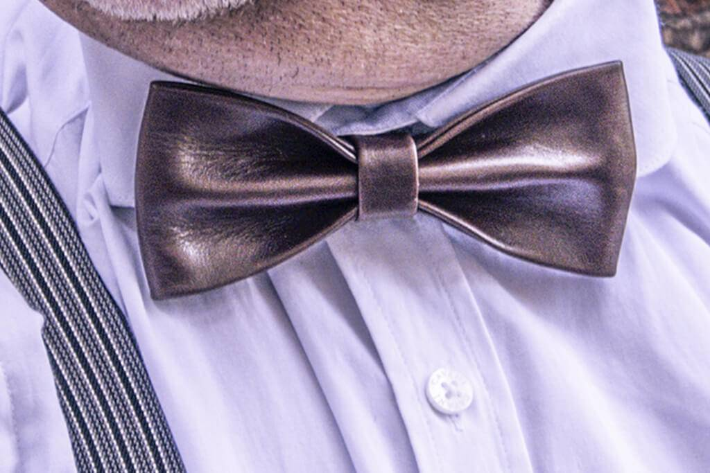 Shelby Brothers collection by Orange Fire Bow tie Arthur dark-brown